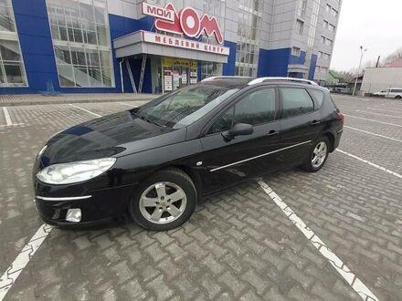 Черный Пежо 407, объемом двигателя 1.6 л и пробегом 290 тыс. км за 6400 $, фото 1 на Automoto.ua