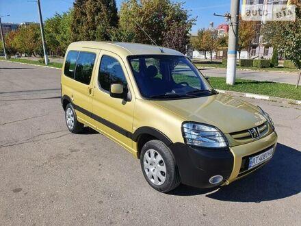 Жовтий Пежо Партнер пас., об'ємом двигуна 1.6 л та пробігом 240 тис. км за 5750 $, фото 1 на Automoto.ua