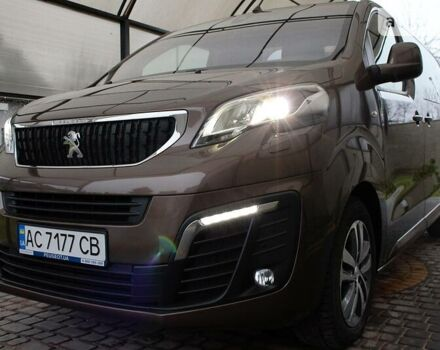 Коричневый Пежо Traveller, объемом двигателя 2 л и пробегом 72 тыс. км за 42000 $, фото 1 на Automoto.ua