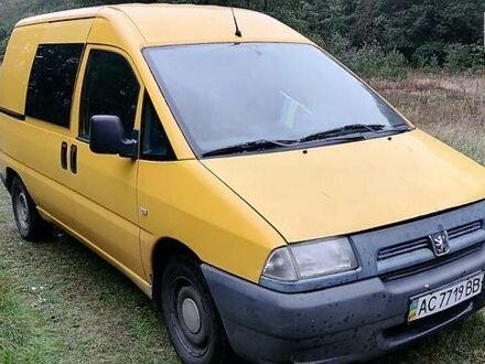 Желтый Пежо Expert груз.-пасс., объемом двигателя 1.9 л и пробегом 253 тыс. км за 4000 $, фото 1 на Automoto.ua