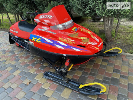 Красный Поларис 600, объемом двигателя 0.6 л и пробегом 3 тыс. км за 2300 $, фото 1 на Automoto.ua