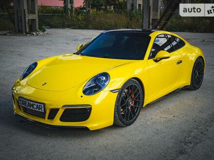 Желтый Порше 911, объемом двигателя 3 л и пробегом 29 тыс. км за 129999 $, фото 1 на Automoto.ua