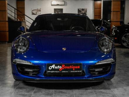 Синий Порше 911, объемом двигателя 3.8 л и пробегом 51 тыс. км за 89500 $, фото 1 на Automoto.ua