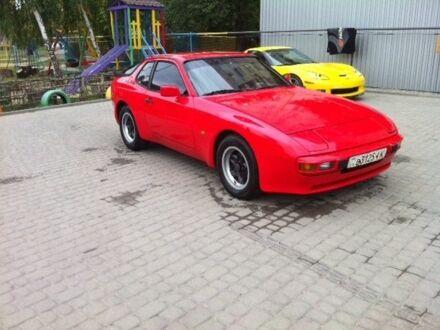 Красный Порше 944, объемом двигателя 2.5 л и пробегом 80 тыс. км за 15000 $, фото 1 на Automoto.ua