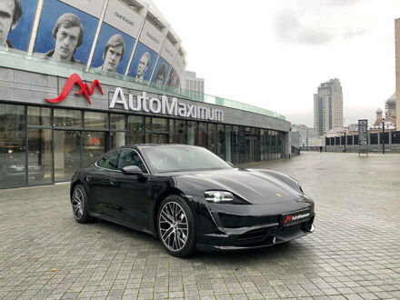 Чорний Порше Тайкан, об'ємом двигуна 0 л та пробігом 2 тис. км за 163243 $, фото 1 на Automoto.ua