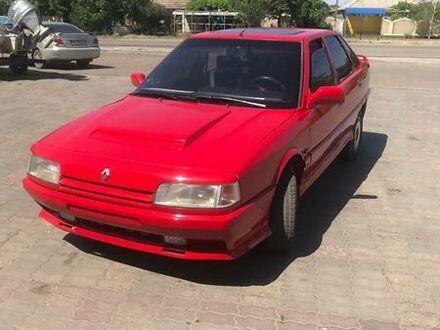 Червоний Рено 21, об'ємом двигуна 2 л та пробігом 100 тис. км за 1500 $, фото 1 на Automoto.ua