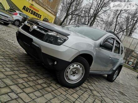 Черный Рено Дастер, объемом двигателя 1.5 л и пробегом 135 тыс. км за 10999 $, фото 1 на Automoto.ua