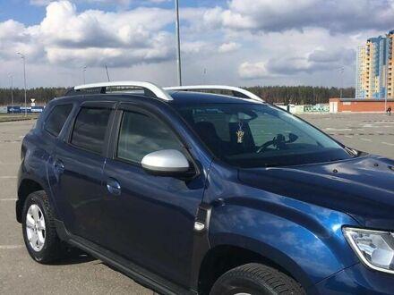 Синий Рено Дастер, объемом двигателя 1.5 л и пробегом 100 тыс. км за 16910 $, фото 1 на Automoto.ua