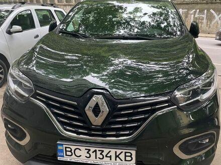 Зелений Рено Kadjar, об'ємом двигуна 1.5 л та пробігом 41 тис. км за 24000 $, фото 1 на Automoto.ua