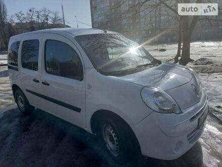 Білий Рено Кенгу пас., об'ємом двигуна 1.5 л та пробігом 194 тис. км за 6200 $, фото 1 на Automoto.ua