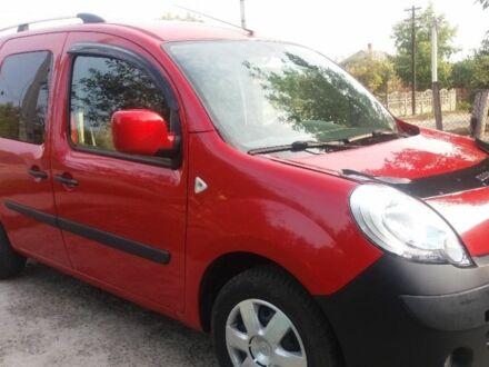 Красный Рено Кенгу пасс., объемом двигателя 1.6 л и пробегом 13 тыс. км за 8300 $, фото 1 на Automoto.ua