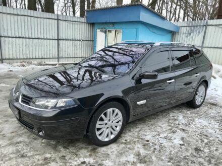 Черный Рено Лагуна, объемом двигателя 2.2 л и пробегом 275 тыс. км за 6999 $, фото 1 на Automoto.ua