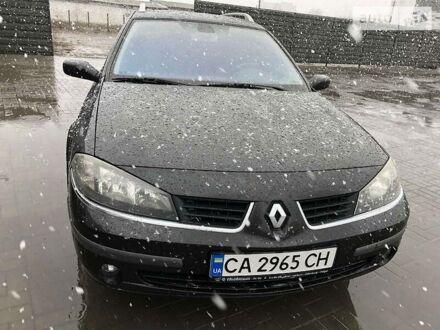 Черный Рено Лагуна, объемом двигателя 2 л и пробегом 277 тыс. км за 4999 $, фото 1 на Automoto.ua