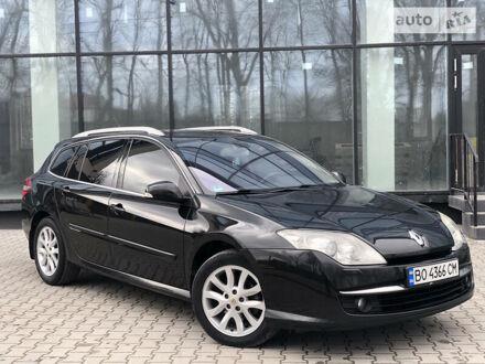 Черный Рено Лагуна, объемом двигателя 2 л и пробегом 350 тыс. км за 7250 $, фото 1 на Automoto.ua