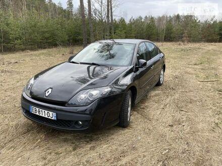 Черный Рено Лагуна, объемом двигателя 1.5 л и пробегом 217 тыс. км за 7450 $, фото 1 на Automoto.ua