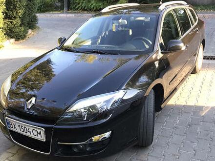 Черный Рено Лагуна, объемом двигателя 1.5 л и пробегом 227 тыс. км за 7800 $, фото 1 на Automoto.ua