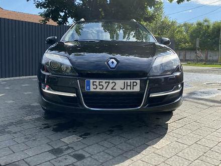 Черный Рено Лагуна, объемом двигателя 2 л и пробегом 170 тыс. км за 10500 $, фото 1 на Automoto.ua