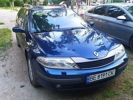 Синий Рено Лагуна, объемом двигателя 1.8 л и пробегом 154 тыс. км за 5500 $, фото 1 на Automoto.ua