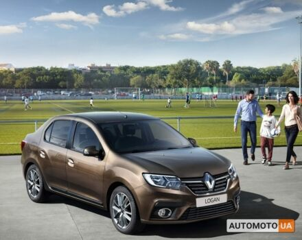 купить новое авто Рено Логан 2020 года от официального дилера Автоцентр Renault Николаев Рено фото