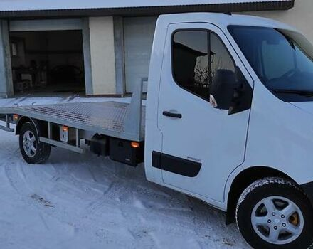 Белый Рено Мастер груз., объемом двигателя 2.3 л и пробегом 19 тыс. км за 14700 $, фото 1 на Automoto.ua