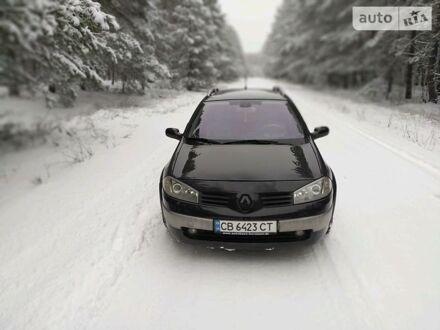 Чорний Рено Меган, об'ємом двигуна 2 л та пробігом 163 тис. км за 5500 $, фото 1 на Automoto.ua