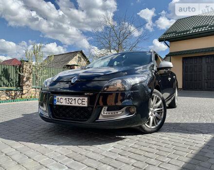 Черный Рено Меган, объемом двигателя 1.5 л и пробегом 207 тыс. км за 9199 $, фото 1 на Automoto.ua