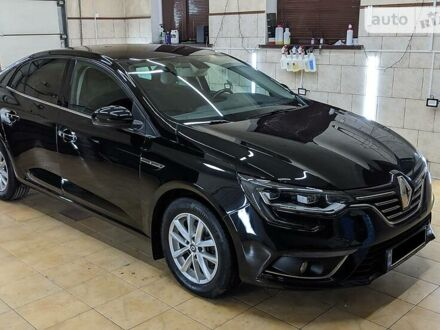 Чорний Рено Меган, об'ємом двигуна 1.5 л та пробігом 93 тис. км за 16900 $, фото 1 на Automoto.ua