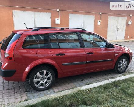 Красный Рено Меган, объемом двигателя 1.6 л и пробегом 230 тыс. км за 5300 $, фото 1 на Automoto.ua