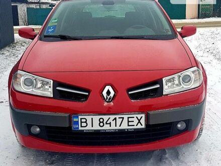 Червоний Рено Меган, об'ємом двигуна 1.6 л та пробігом 179 тис. км за 6900 $, фото 1 на Automoto.ua
