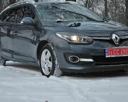 Серый Рено Меган, объемом двигателя 1.5 л и пробегом 152 тыс. км за 3000 $, фото 1 на Automoto.ua