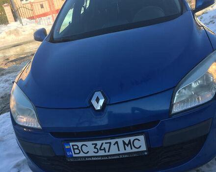 Синий Рено Меган, объемом двигателя 1.5 л и пробегом 133 тыс. км за 6499 $, фото 1 на Automoto.ua