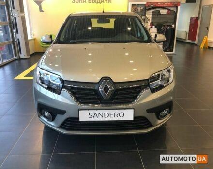 купити нове авто Рено Сандеро 2021 року від офіційного дилера Європа Плюс Рено фото