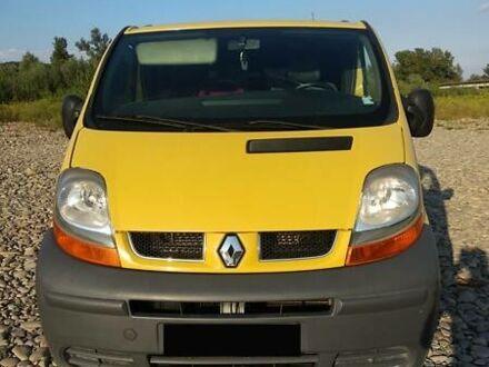 Желтый Рено Трафик пасс., объемом двигателя 1.9 л и пробегом 289 тыс. км за 6600 $, фото 1 на Automoto.ua