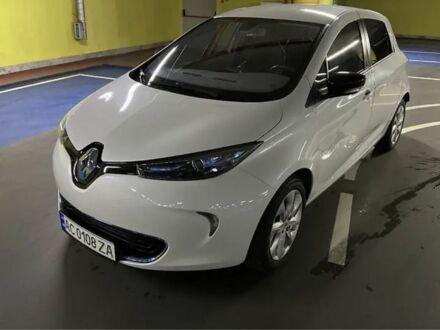 Белый Рено Зое, объемом двигателя 0.15 л и пробегом 22 тыс. км за 10000 $, фото 1 на Automoto.ua