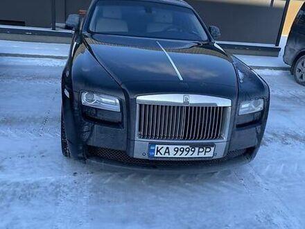 Черный Ролс Ройс Гост, объемом двигателя 6.6 л и пробегом 38 тыс. км за 183000 $, фото 1 на Automoto.ua