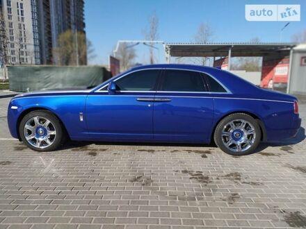 Синий Ролс Ройс Гост, объемом двигателя 6.6 л и пробегом 78 тыс. км за 169999 $, фото 1 на Automoto.ua