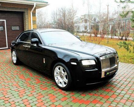 Чорний Ролс Ройс Ghost, об'ємом двигуна 6.6 л та пробігом 9 тис. км за 310000 $, фото 1 на Automoto.ua
