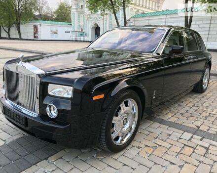 Чорний Ролс Ройс Фантом, об'ємом двигуна 6.7 л та пробігом 53 тис. км за 149999 $, фото 1 на Automoto.ua