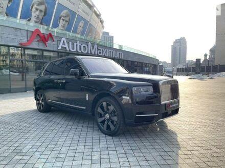 Чорний Ролс Ройс Cullinan, об'ємом двигуна 6.7 л та пробігом 12 тис. км за 410000 $, фото 1 на Automoto.ua
