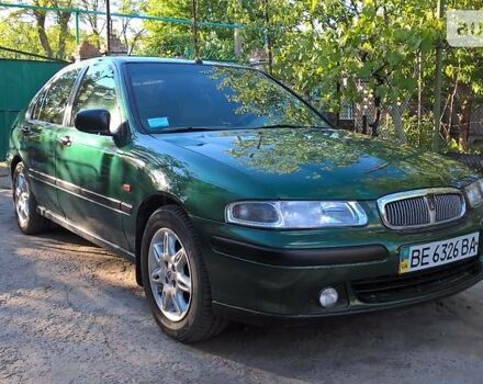 Зелений Ровер 414, об'ємом двигуна 1.4 л та пробігом 200 тис. км за 4500 $, фото 1 на Automoto.ua