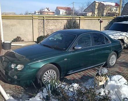 Зеленый Ровер 75, объемом двигателя 2 л и пробегом 130 тыс. км за 4600 $, фото 1 на Automoto.ua