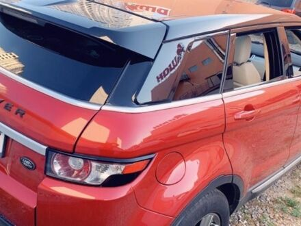 Красный Ровер Рендж Ровер, объемом двигателя 2 л и пробегом 70 тыс. км за 18000 $, фото 1 на Automoto.ua