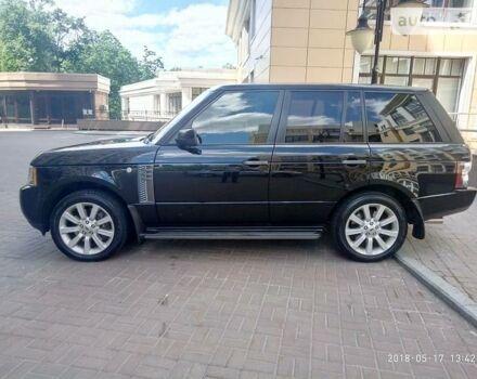 Чорний Ровер Range Rover, об'ємом двигуна 5 л та пробігом 76 тис. км за 36000 $, фото 1 на Automoto.ua