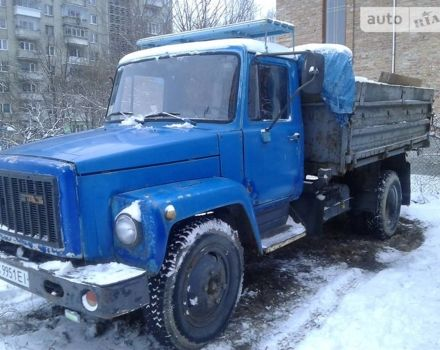 Синій САЗ 3507, об'ємом двигуна 4.25 л та пробігом 100 тис. км за 2234 $, фото 1 на Automoto.ua