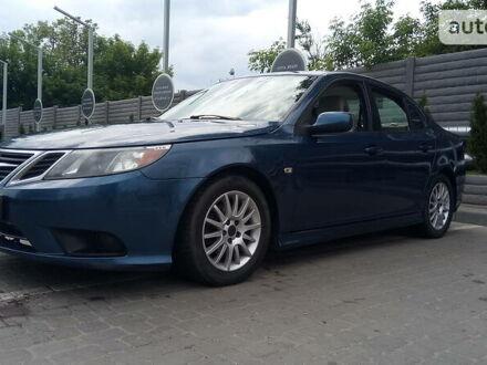 Синій Сааб 9-3, об'ємом двигуна 2 л та пробігом 320 тис. км за 7300 $, фото 1 на Automoto.ua