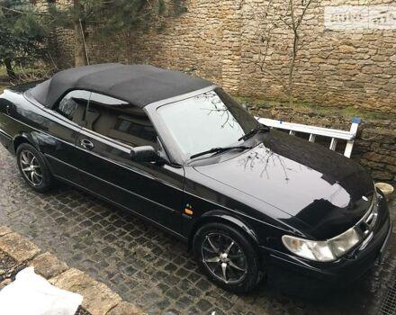 Чорний Сааб 9-3, об'ємом двигуна 2 л та пробігом 150 тис. км за 5900 $, фото 1 на Automoto.ua