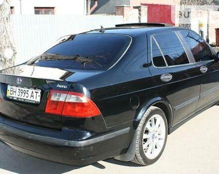 Черный Сааб 9-5, объемом двигателя 2.3 л и пробегом 205 тыс. км за 0 $, фото 1 на Automoto.ua