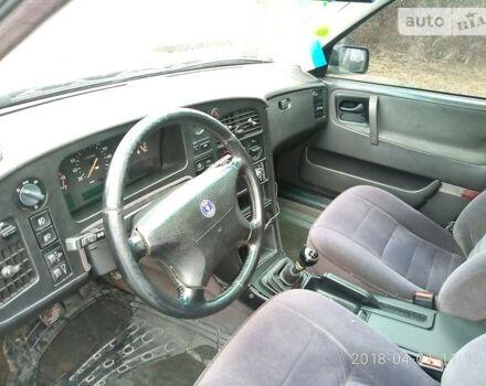 Зеленый Сааб 9000, объемом двигателя 2.3 л и пробегом 310 тыс. км за 2400 $, фото 1 на Automoto.ua