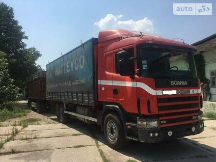 Красный Сканиа 114, объемом двигателя 10.6 л и пробегом 10 тыс. км за 16000 $, фото 1 на Automoto.ua