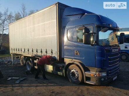 Синий Сканиа G, объемом двигателя 13 л и пробегом 850 тыс. км за 27800 $, фото 1 на Automoto.ua